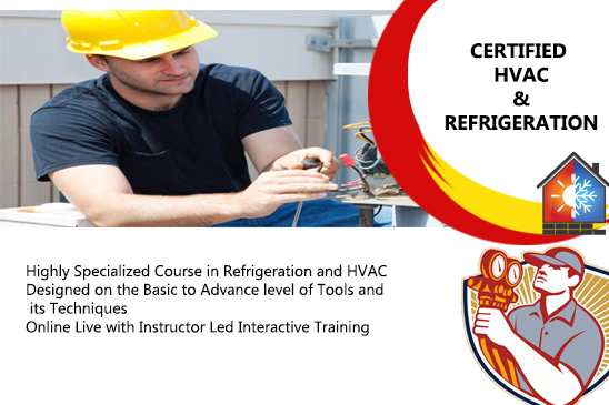Certified HVAC and REFRIGERATION COURSE