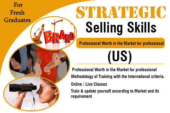 Learn Strategic Selling Skills